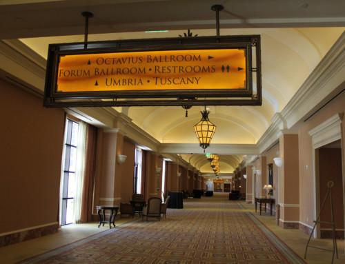 Caesar Palace a Las Vegas e le aule di formazione. Confronti