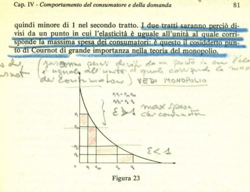 Elasticità della curva di domanda. La formula di conteggio. Microeconomia