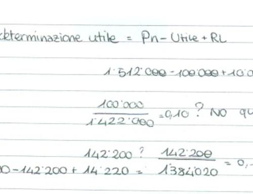Redazione bilancio con dati a scelta/1. Prof Carlini
